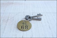 Brass Number Tag // Single Tag by genrestoration on Etsy, $6.00