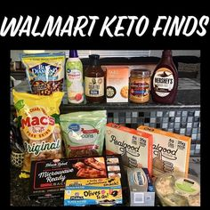 Walmart Grab and Go Low Carb Keto Items; Here is a list so you can grab and go! No more wandering around the store or reading Ketogenic Food List, Keto Food List, Ketogenic Recipes, Food Lists, Diet Recipes, Diet Tips, Easy Recipes, Healthy Recipes, Keto Shopping List