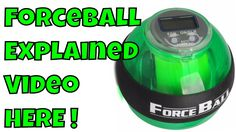 Powerball Gyroscope How it Works Force ball Arm Exercise UnBoxing and Re...