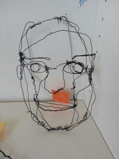 Wire portraits
