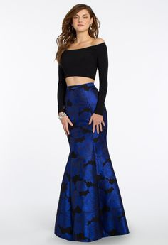 Two Piece Long Sleeve  Dress