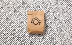 Brand identity and packaging by Bond for cruise ship cafeteria concept Coffee & Co.