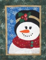 Seasons In Patches - Mrs Snowman The Heart & Home Co Quilt Wall Hanging Christmas Humor, Christmas Crafts, Snowman Quilt, Christmas Embroidery, Christmas Quilting, Winter Quilts, Wool Pillows, Quilted Wall Hangings, Antique Quilts