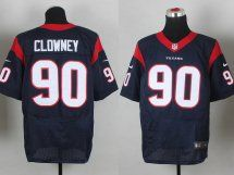 Nike Texans Jadeveon Clowney Navy Blue Team Color Men s Stitched NFL Elite  Jersey And Derek Wolfe 95 jersey a724c7920