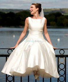 Audrey Hepburn Style Wedding Dress – fashion dresses