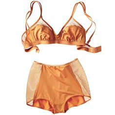 Cosabella, bra ($70) and high briefs ($43); shop.cosabella.com #InStyle