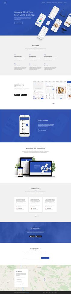 Meson - App Landing Page by GoldenLayers | ThemeForest