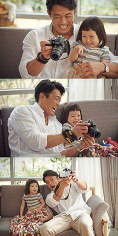 Choo Sung Hoon and Choo Sarang capture their 'choovely' moments together in 'Nikon' CF Superman Cast, Superman Kids, Korean Tv Shows, Korean Variety Shows, Korean Drama Movies, Korean Dramas, Sung Hoon, Korean People, Reality Tv Shows