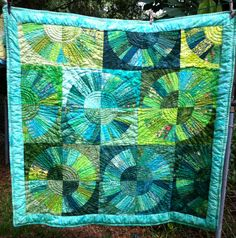 QUILT FOR SALE-Scrappy NYB finished this week June 13, 2015  44x44 Machine quilted Jenn-Alabama