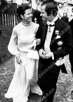 Silvia and Carl Gustav