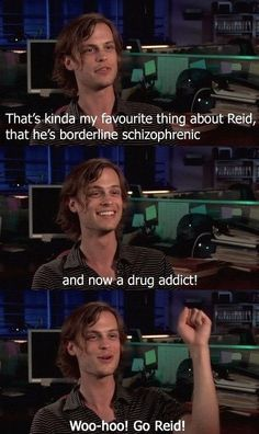Favorite thing about Spencer Reid…