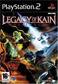 Legacy Of Kain: Defiance (Sony PlayStation DVD-Box) günstig kaufen Playstation Games, Xbox Games, Arcade Games, Games Ps2, Pc Games, Card Games, Legacy Of Kain, Soul Reaver 2, Games