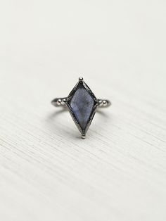 Free People Diamond Night Ring from Free People. Saved to Jewels. #coolring. Shop more products from Free People on Wanelo.