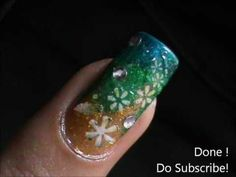 Very Easy Nail Design -nail art Easy nail Design for Beginners easy nail...
