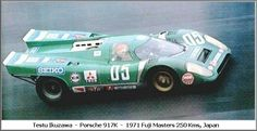"le-mans 1970 wet | Porsche 917k (Fins) 1971 Le Mans 2nd place: <a class=""pintag searchlink"" data-query=""%2319"" data-type=""hashtag"" href=""/search/?q=%2319&rs=hashtag"" rel=""nofollow"" title=""#19 search Pinterest"">#19</a> – JWA Gulf ( Richard ..."