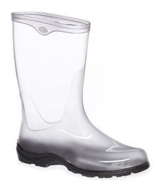 Loving this TwoAlity Clear Rain Boot on #zulily! #zulilyfinds