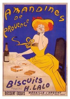 Amandines de Provence Art Print by Leonetto Cappiello at Art.com