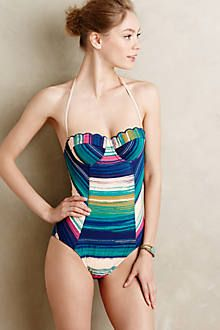 Seafolly Face It Maillot - anthropologie.com