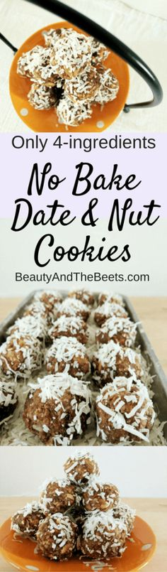 No Bake Date and Nut Cookies Recipe