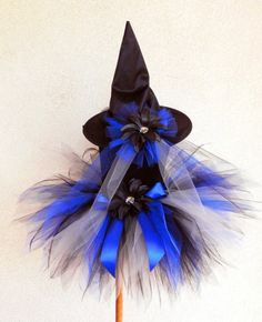 black & blue witch