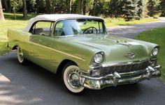 1956 Chevrolet Bel Air Convertible.