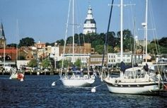 Annapolis, Maryland - the sailing capital of the U.S., Maryland's state capital, a former national capital, and a town that is cute as a button!