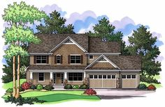 See the Catherine Country Home that has 4 bedrooms, 2 full baths and 1 half bath from House Plans and More. See amenities for Plan Best House Plans, Dream House Plans, Small House Plans, House Floor Plans, Craftsman Farmhouse, Craftsman Style House Plans, Farmhouse Style, Monster House Plans, Country Style House Plans