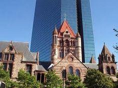 Boston, Trinity Church, new Prudential Building