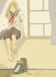 Yuujinchou ~~ The girl who started it all :: Natsume Reiko Me Me Me Anime, Anime Love, Manga Anime, Anime Art, Natsume Takashi, Cool Anime Pictures, Hotarubi No Mori, Natsume Yuujinchou, Manga Comics
