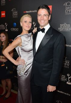 Kaitlin Robinson and actor James Scott attend The Annual Daytime Emmy Awards James Scott, Casting Pics, Actor James, National Academy, Days Of Our Lives, Man Alive, Attractive Men, Awards, It Cast