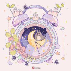 Griffonnages Kawaii, Arte Do Kawaii, Kawaii Anime, Kawaii Doodles, Cute Kawaii Drawings, Cute Animal Drawings, Cute Pastel Wallpaper, Kawaii Wallpaper, Wallpaper Iphone Cute