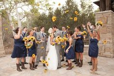 The colorful foliage and seasonal decorations make for picture-perfect festivities — it's easy to see why fall weddings are growing in popularity!