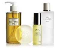 DHC Skincare. They used to have this in a mini set that lasted forever....it is well worth the money.