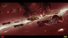 Homeworld 2 Vaygr by Vollhov on DeviantArt