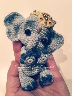 Little Elephant amigurumi RIF:https://www.etsy.com/listing/517426537/elfin-thread-elil-the-chibi-elephant-pdf