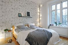 Small Apartment ... This bedroom inspires me!