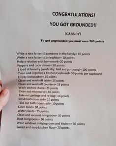 Points to get out of grounding - These People Know How to Parent in the Most Awesome Way Possible.
