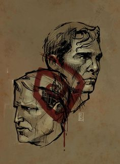 Twitter / RodReis: True Detective digital sketch ...