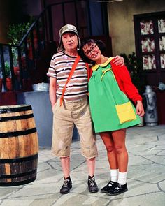 turma-chaves-seriado-chiquinha I use to watch this when I picked up my best friend at her house back in grade school years ago :b