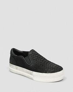 Ash Slip On Platform Sneakers - Jungle