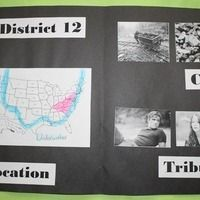 Hunger Games Novel Study- includes project ideas and guided reading packet with vocabulary, questions for each chapter, and character tracker charts