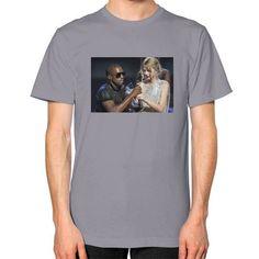 Kanye Taylor Unisex T-Shirt (on man)