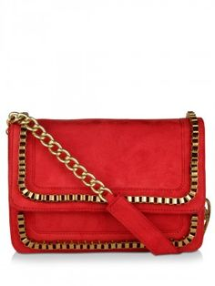 Cupidity Box Chain Sling Bag available on koovs