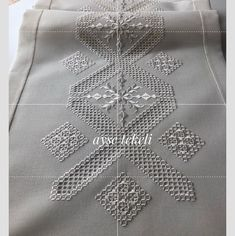 Hardanger Embroidery, Paper Embroidery, Cross Stitch Embroidery, Crochet Doily Patterns, Crochet Doilies, Doll Clothes Patterns, Clothing Patterns, Dress Patterns, Point Lace