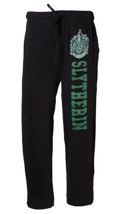 Harry Potter Slytherin Pajama Pants - Men's Lounge Pants #wizardry #darkarts #hogwarts