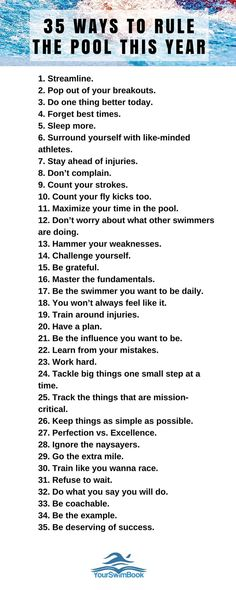 35 Ways to Rule the Pool This Year