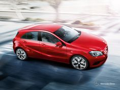 Mercedes-Benz A-Class. Unadulterated agility.