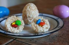 Rice Krispy Easter Eggs