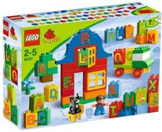 6051 LEGO Duplo Play with Letters Building Set