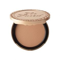 Made with real cocoa powder, this matte bronzer smells downright edible. #Beauty #BeautyProducts